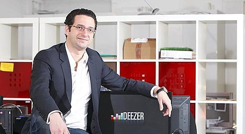 Jonathan Benassaya est persuadé que Deezer, avec ses 4,5 millions de titres disponibles, est «l'évolution ultime de la radio»