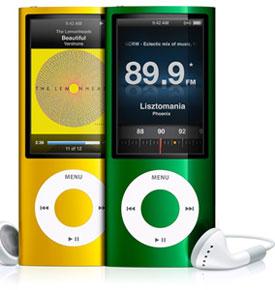 Ipod nano 16 Go radio