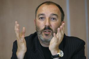 Le PDG de Skyrock, Pierre Bellanger, le 14 mai 2007