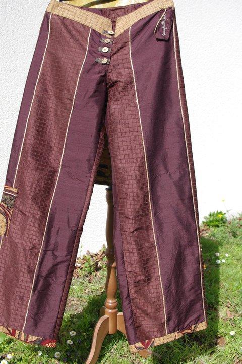Pantalon soie T40