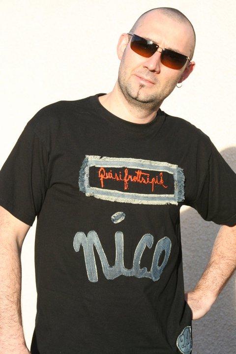 T-Shirt  custom %22Nico%22 Saulnier