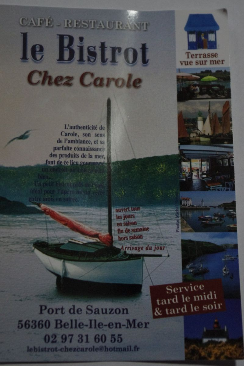 Chez Carole Sauzon