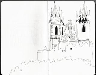 Prague eglise