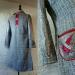 N°733 Manteau laine argent T38 PieceUnique 269€