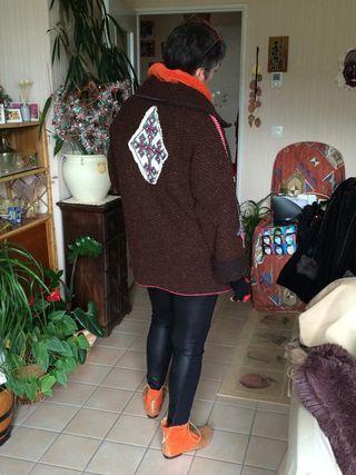 Corinne Buzier-Gaignard N°369 Veste T38-40 (249€)