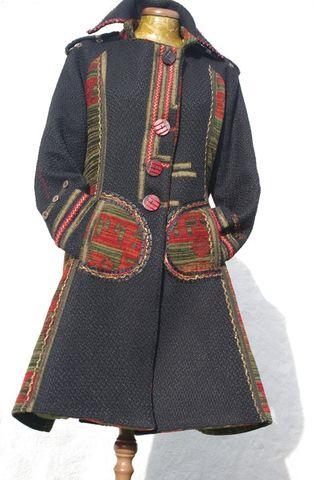 N°29 Veste redingote Quisifrottsipik Taille 40  Pièce Unique449€