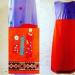 N°687 Robe Quisifrottsipik tissu mauve de Thaïlande pièce unique