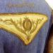 N°763 Redingote brodé fil d'or et de soie dans le dos Taille 36 pièce unique 569€