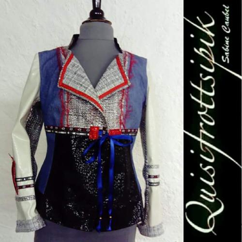 N°682 veste T40 pièce unique 269€