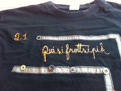 Commande de T-Shirt Custom Quisifrottsipik