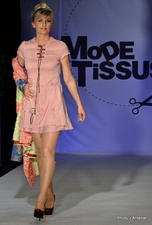 """Silhouette 12 """"Quisifrottsipik"""" au Défilé """"Mode & Tissus"""" Printemps/Eté 2012"""