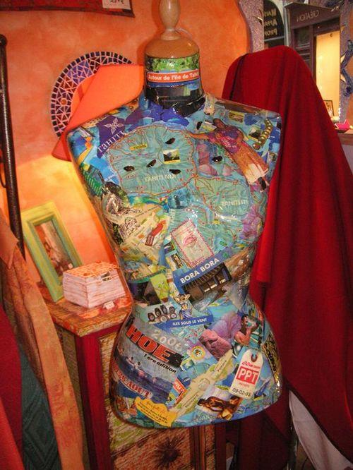 Quisifrottsipik Mannequin N°9...Bora Bora