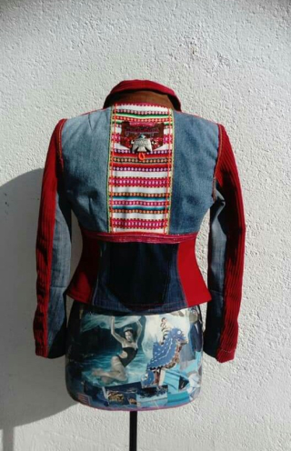 N°890 Veste Taille T38 pièce unique 299€ dos