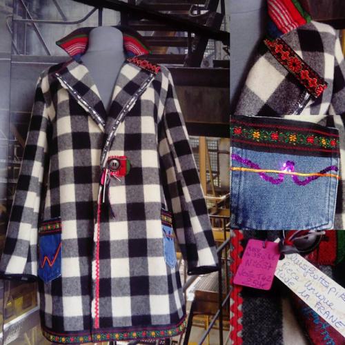 N°637 veste taille 42 pièce unique 259€ www.quisifrottsipik.com