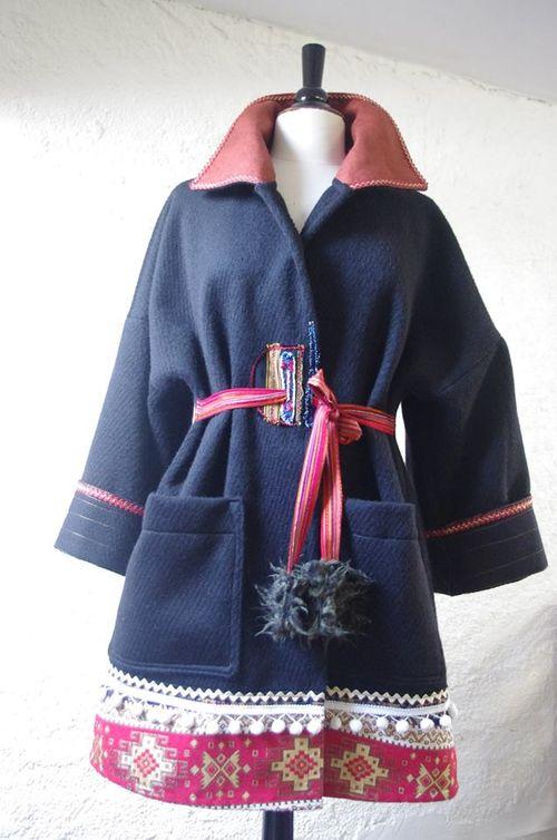 N°367 Manteau Quisifrottsipik Taille 38/40 (269€) Pièce Unique