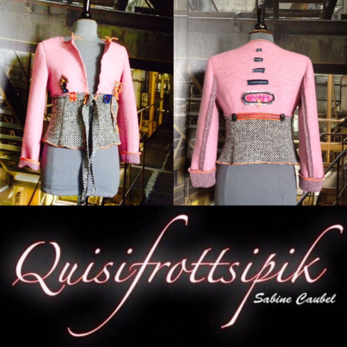 N°612 Veste T38 pièce unique 219€ www.quisifrottsipik.com Made In France