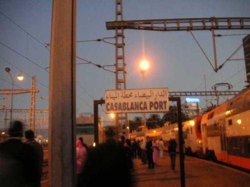 Gare de Casablanca