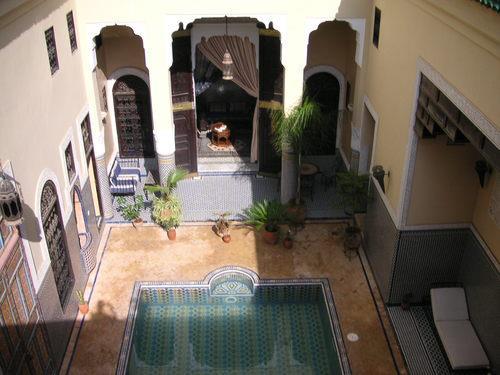 Notre Palais de rève, le Riad Fès Baraka. Vue de la suite Arabesque ..... Dure mon job de créatrice