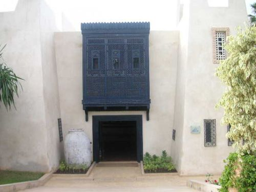 L'entrée de notre Hôtel à Agadir!!!!