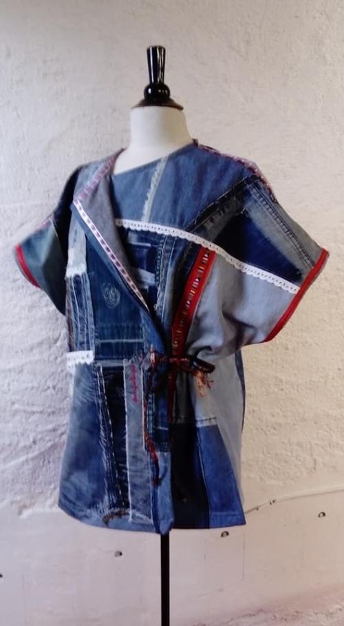 N°755 Kimono Taille 44/46 pièce unique 269€ www.quisifrottsipik.com