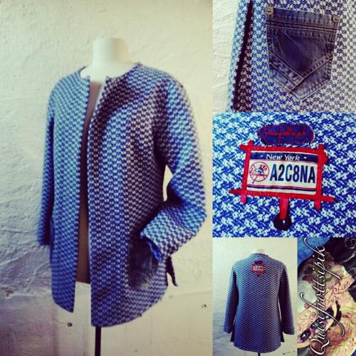 N°773 veste T42 pièce unique 229€ www.quisifrottsipik.com