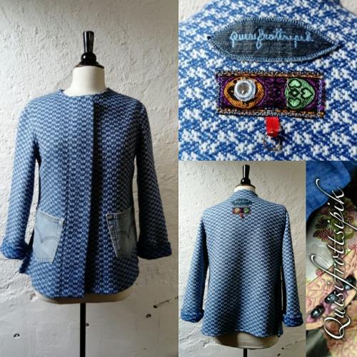 N°776 veste T38 pièce unique 229€ www.quisifrottsipik.com