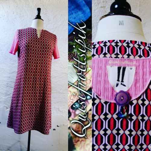 N°777 robe T42 pièce unique 139€ www.quisifrottsipik.com