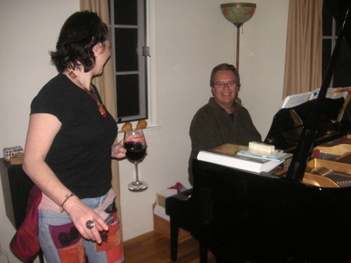 Rick Krizman au piano!
