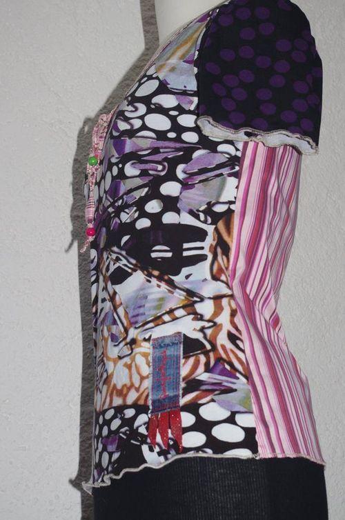 www.quisifrottsipik.com N°469 T-Shirt Taille 38 Pièce Unique 119€