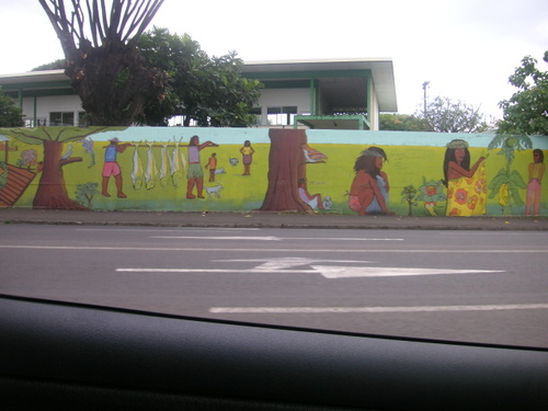 Le Tag existe aussi à Tahiti